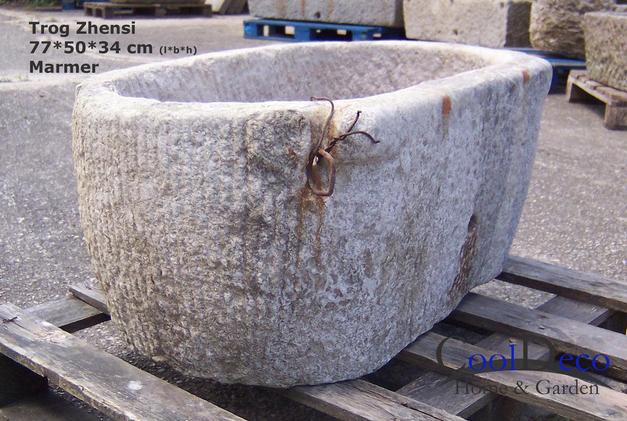 waschbecken f r drau en steintrog zhensi marmor gartendeko. Black Bedroom Furniture Sets. Home Design Ideas
