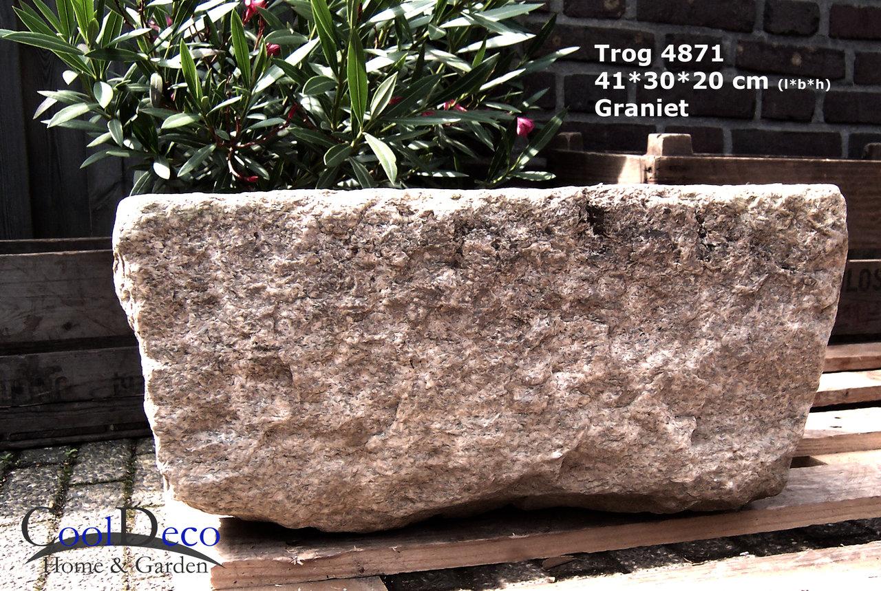 steintrog l4871 vogelbad aus granit naturstein im garten. Black Bedroom Furniture Sets. Home Design Ideas
