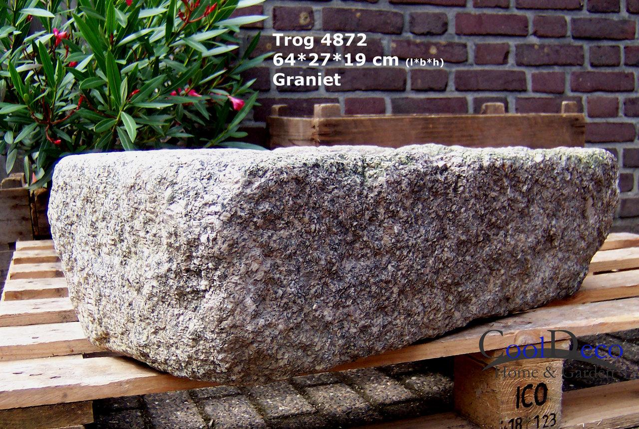 kleines wasserbecken steintrog l4872 teichbecken naturstein. Black Bedroom Furniture Sets. Home Design Ideas