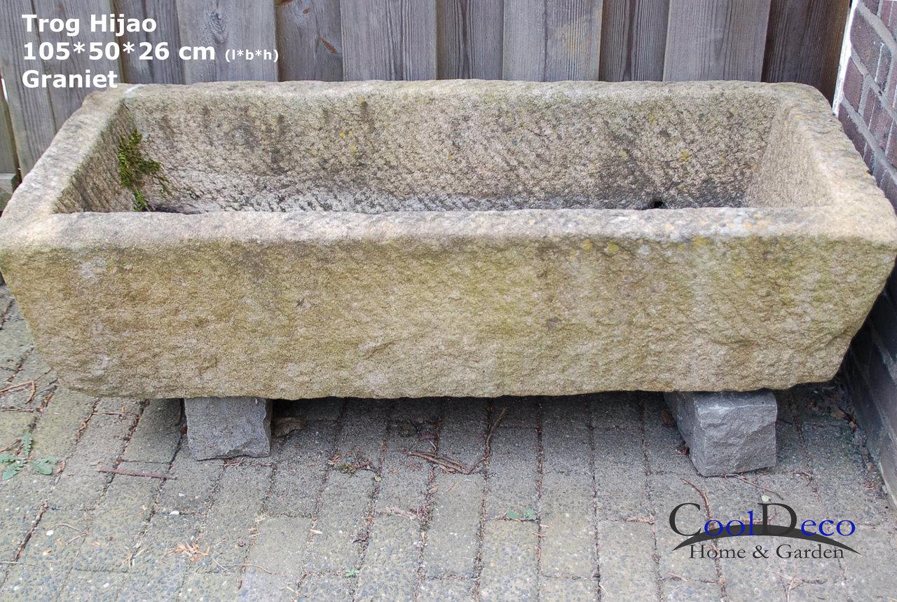 alte tiertr nke hijao weidetr nke granit pflanzk bel naturstein. Black Bedroom Furniture Sets. Home Design Ideas